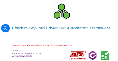 Tiberium Keyword Driven Test Automation Framework Version 3.8 Yayında