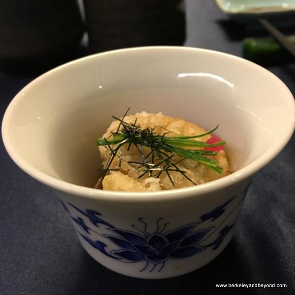 white sesame cashew balls at Yu Shan Ge in Taipei, Taiwan