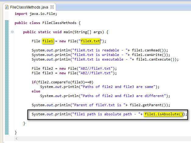 Selenium-By-Arun: 263. Methods of File Class