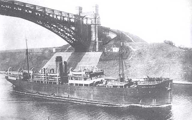 Polish freighter Warszawa, sunk by U-559 on 26 December 1941 worldwartwo.filminspector.com