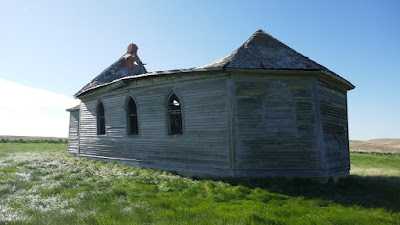 abandoned, historical, church, cemetery, Horsham, Saskatchewan