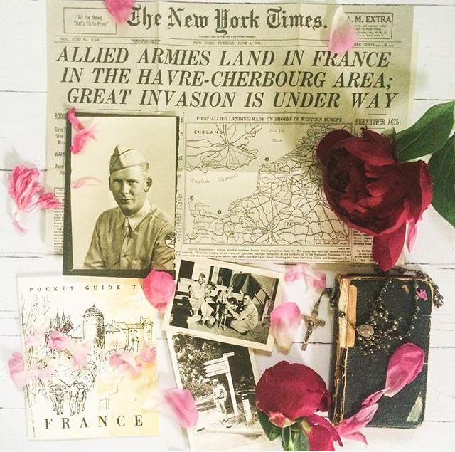 @gingerfancy on Instagram, collect and style, collect style, vintage collection, World War II memorabilia