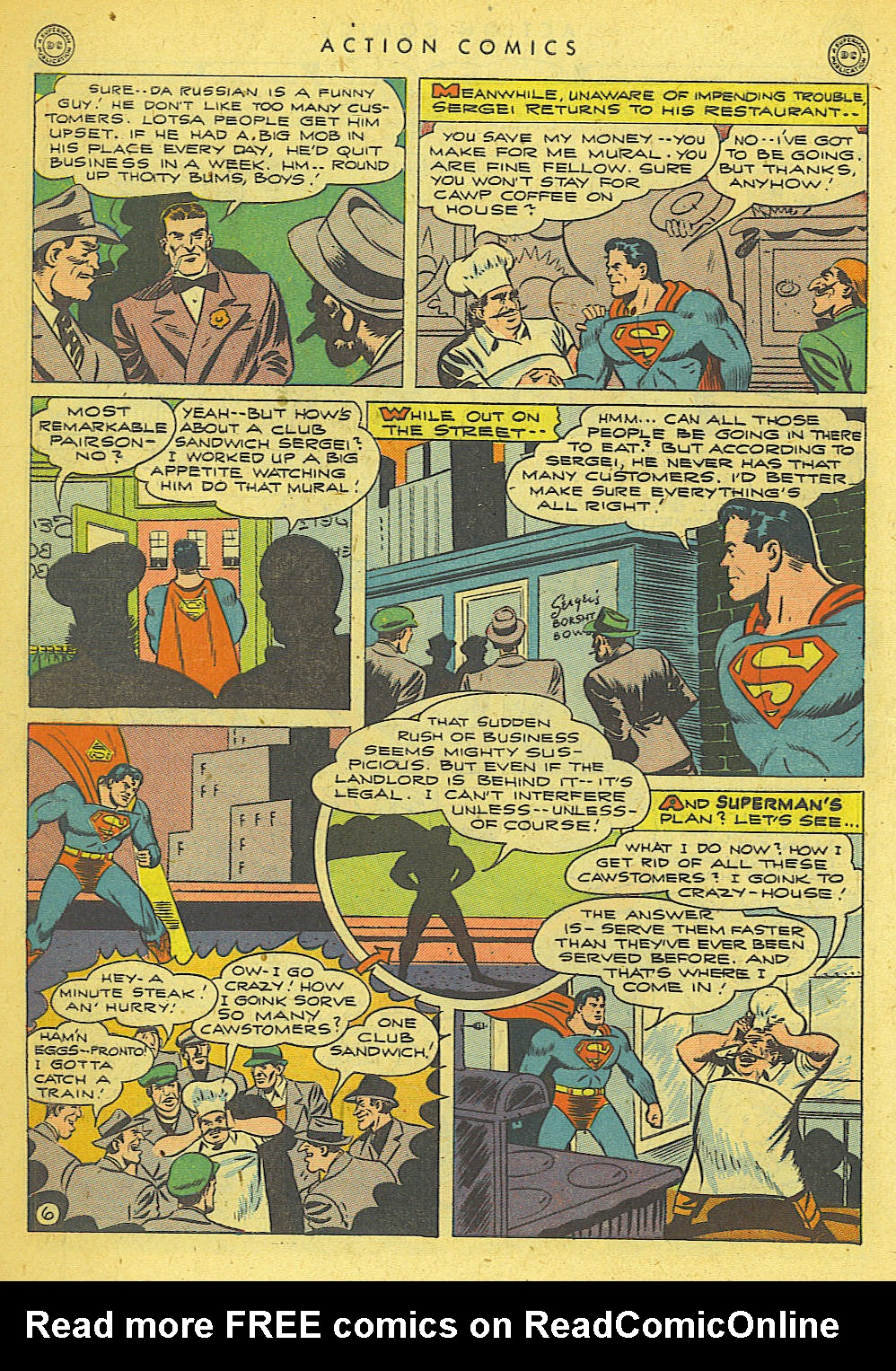 Read online Action Comics (1938) comic -  Issue #78 - 7