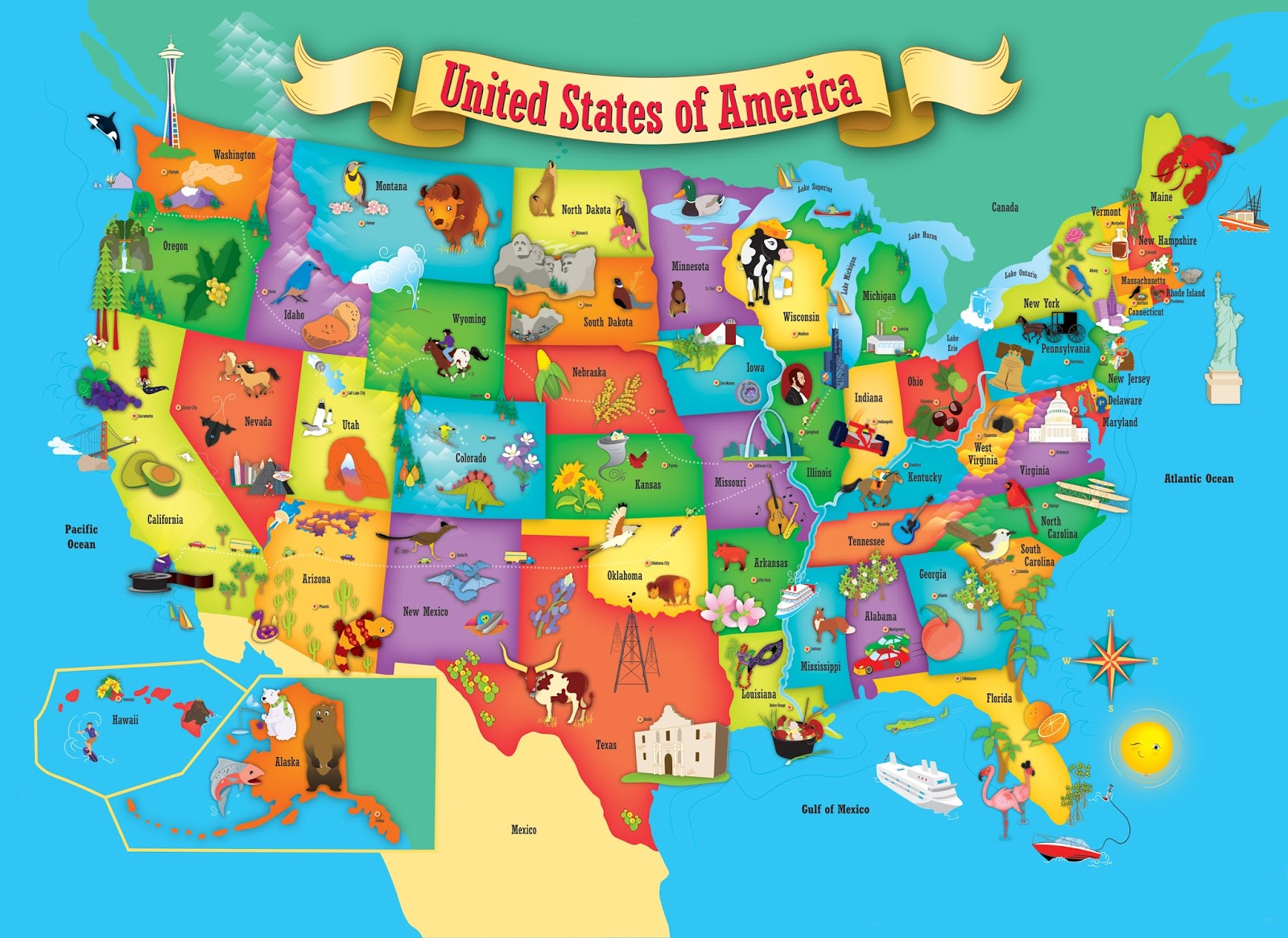 usa map puzzle rand mcnally store melissa doug united states from usa map image source catgo co