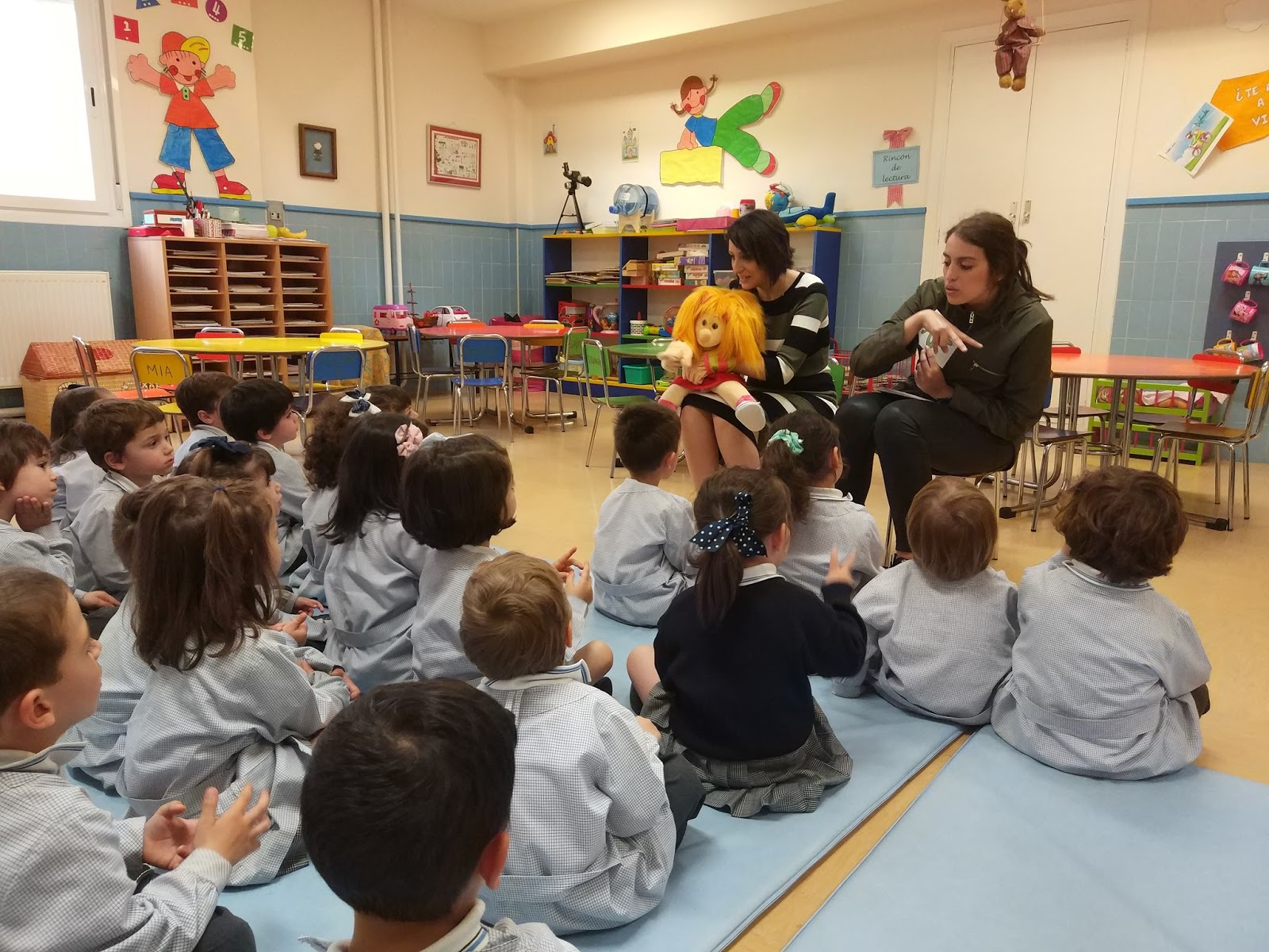 Agustinas Valladolid - 2017 - Infantil 3 - ASPAS