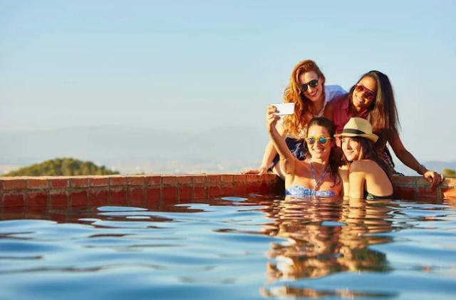 Viajar con amigos es bueno para la salud