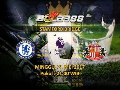 Situs Agen SBOBET Terpercaya - Prediksi Pertandingan Liga Inggris, Chelsea vs Sunderland 21 Mei 2017