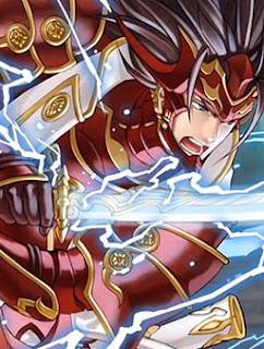 Ryoma (voz de Matt Mercer, ilustración de Kita Senri) de Fire Emblem Fates: Birthright