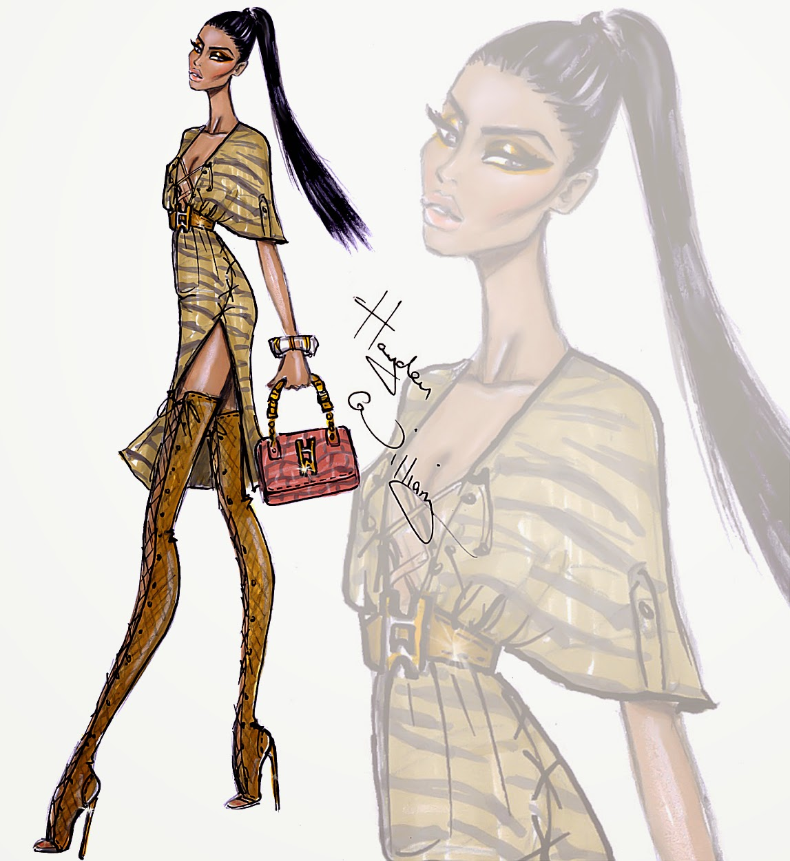 Hayden Williams Fashion Illustrations: July 2014