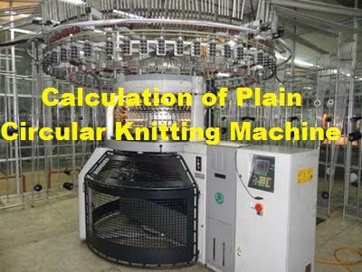Plain (Single –jersey) circular knitting machine