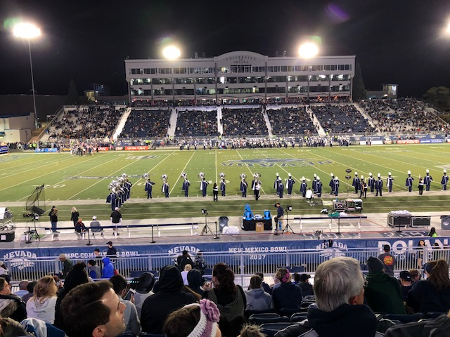 Nevada Wolf Pack Football game