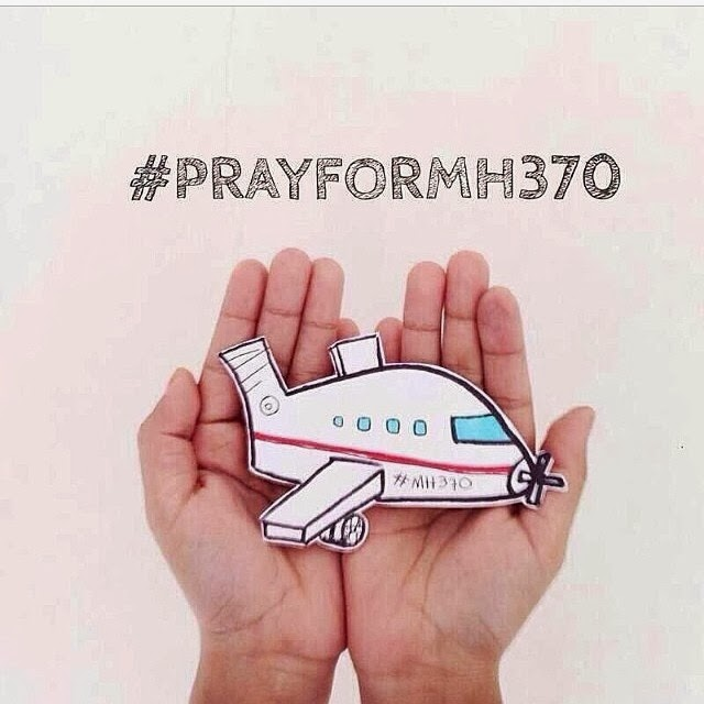 Malaysia Airlines MH 370 (Boeing 777) - Pray for MH370 #prayforMH370