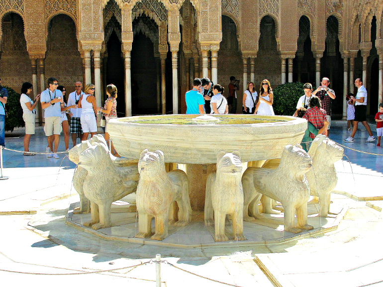Lions Palace in Nasrid Palace