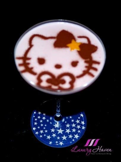 keio plaza tokyo polestar hello kitty cocktail cute