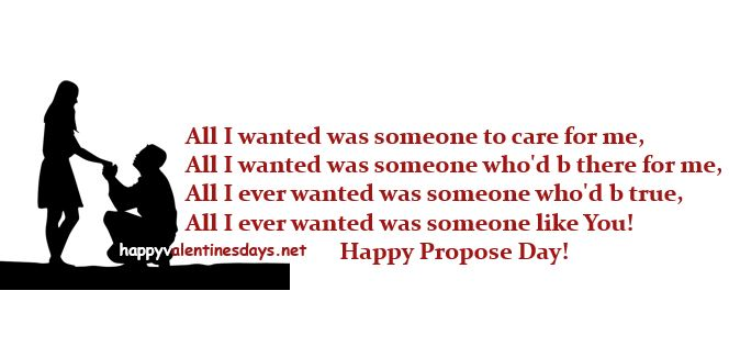 Happy Propose Day Wishes Quotes Messages Shayari SMS Greetings
