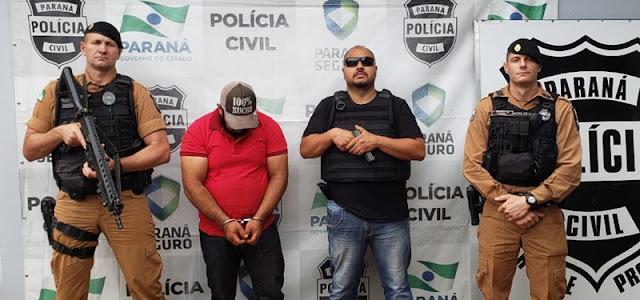 Luiziana: Policia cumpre mandado de busca e apreensão, recupera veiculo furtado e prende suspeito