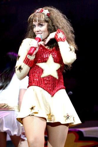 Foto de Tatiana en el escenario