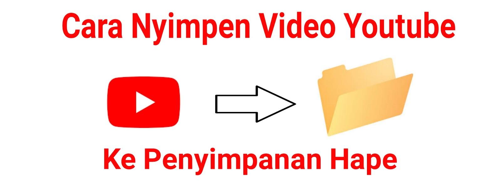 cara mendownload video di youtube langsung ke galeri