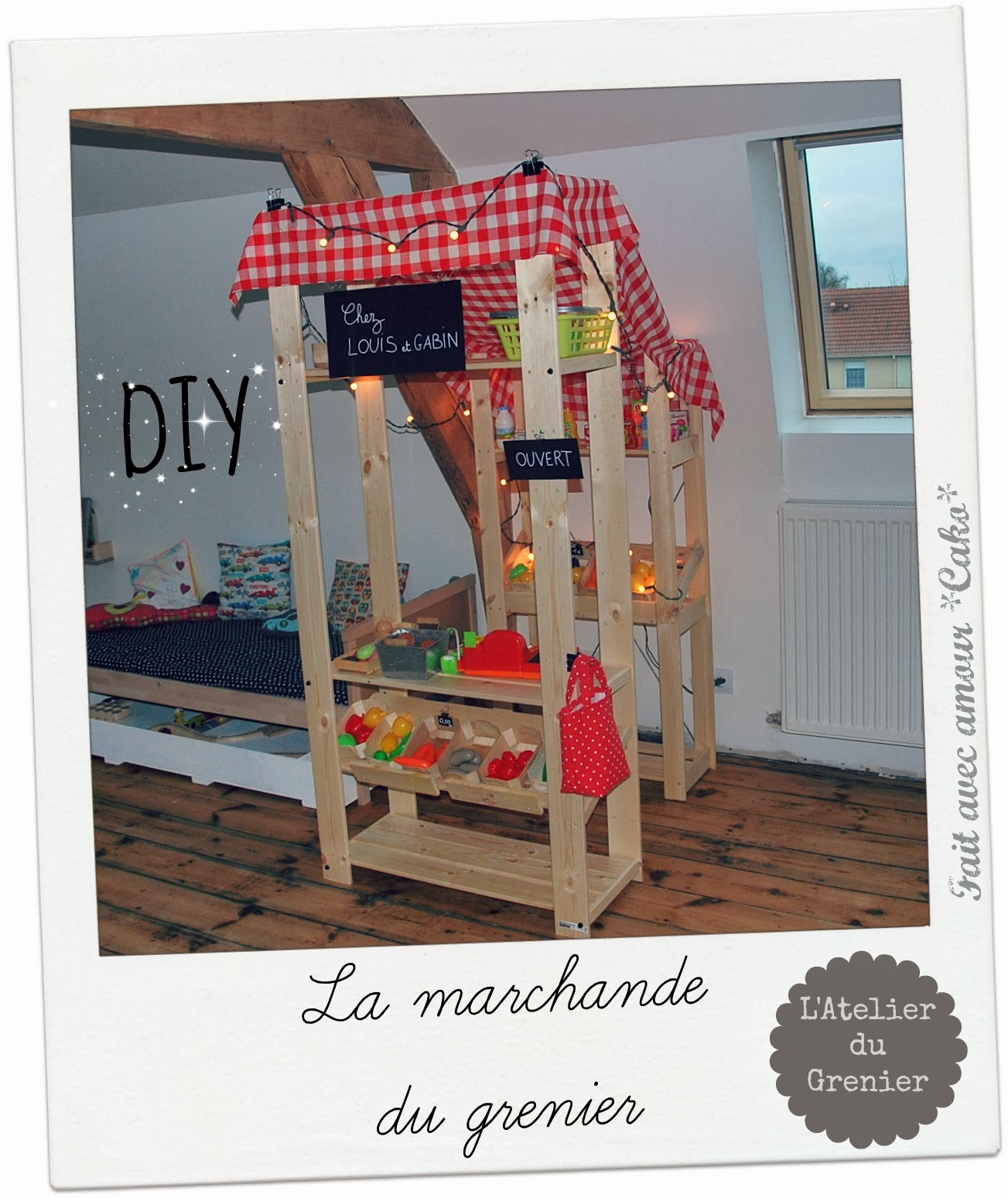 fait avec amour cako diy la marchande du grenier. Black Bedroom Furniture Sets. Home Design Ideas
