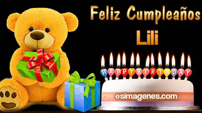 Feliz Cumpleaños Lili
