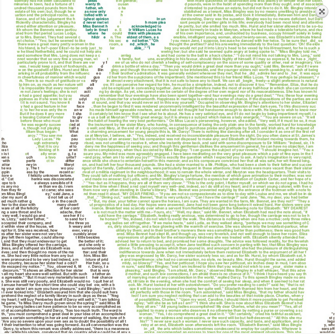 book text art poster