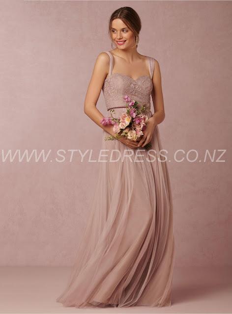 Charming Sweetheart Floor-Length Auckland Sleeveless Backless A-Line Bridesmaid Dress