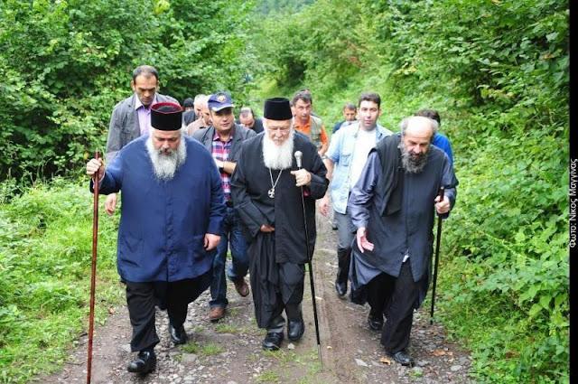 Η πρώτη επίσκεψη του Οικ. Πατριάρχη μετά από 90 χρόνια, στον Άγιο Γεώργιο Περιστερεώτα στον Πόντο