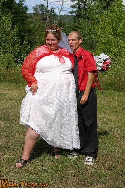 foto pasangan terunik terlucu teraneh dan ternorak di dunia-21