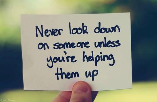 pandang rendah pada orang lain