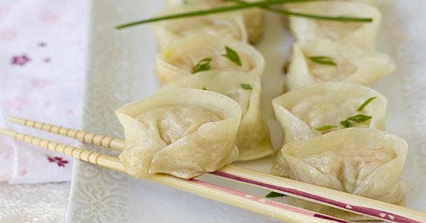 Shrimp Pork Dumplings (Ebi To Butaniku No Gyoza) Recipe