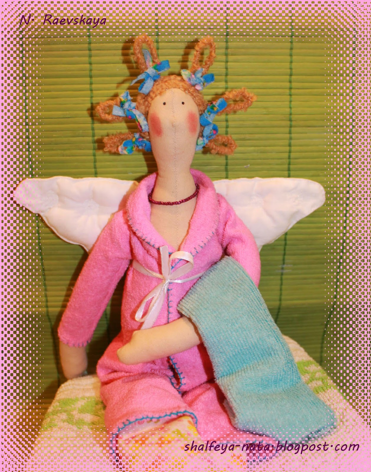 Банный ангел тильда