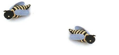 Amigurumi abeille