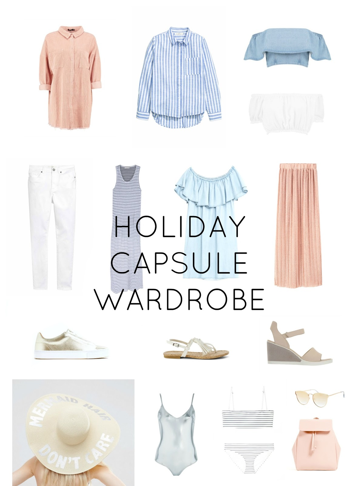 HOW TO CREATE A HOLIDAY CAPSULE WARDROBE WITH LYST
