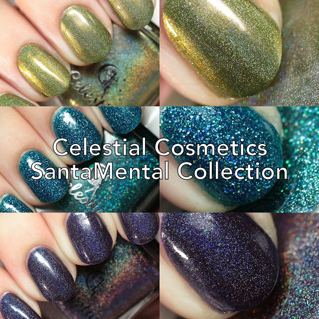 Celestial Cosmetics SantaMental Collection