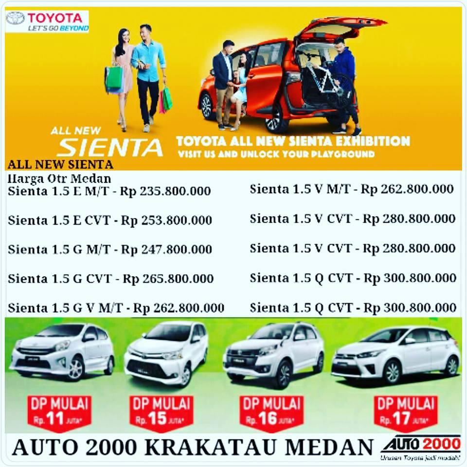Harga Grand New Avanza Otr Medan Agya Trd 1.2 Toyota Auto 2000 Sumatera Utara All Sienta Public Display Sebelum Kehabisan Promo Ramadhan Lebaran Paket Super Beres Rush G M T Dp 19 Jt 12 Yaris