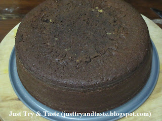 Resep Devil's Food Cake JTT