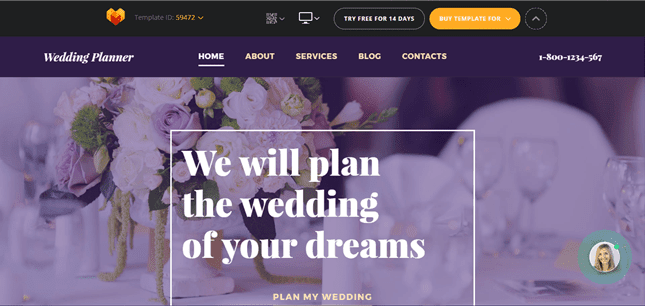 Wedding Planer Template