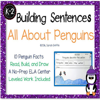 https://www.teacherspayteachers.com/Product/Building-Sentences-All-About-Penguins-Nonfiction-Writnig-Center-2915374