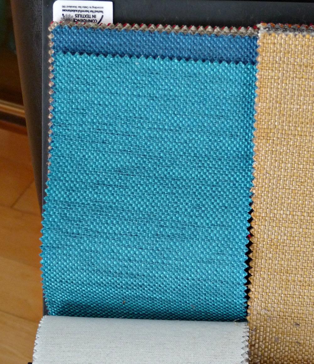 Teal tweed