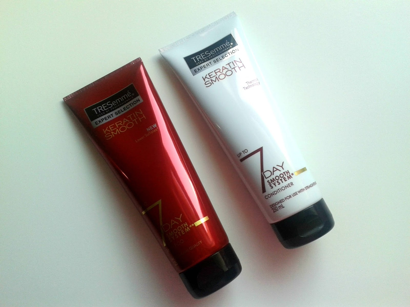 Tresemme Keratin Smooth Trio Beauty Review Shampoo Conditioner
