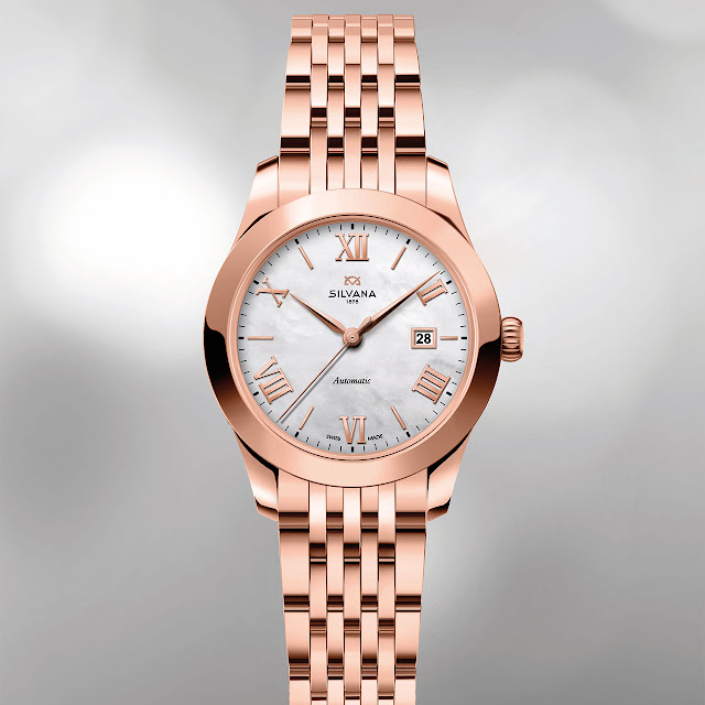 Silvana Lady LeMarbre 28 mm Mechanical Automatic Swiss Watch