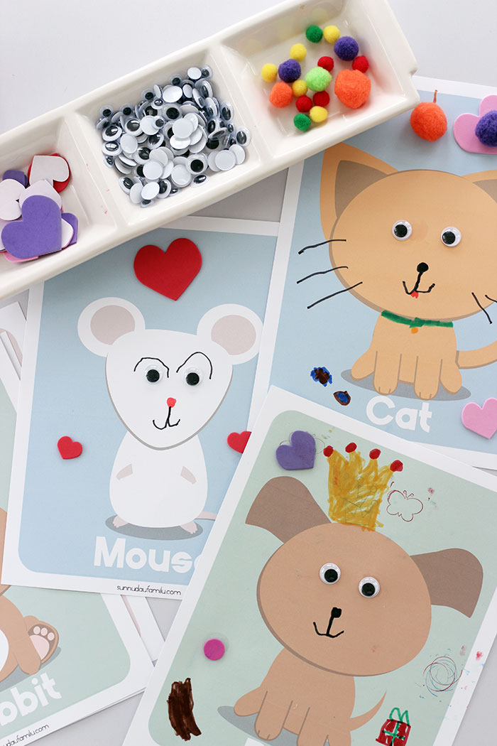 This is an image of Free Printable Animal Templates throughout wooden animal