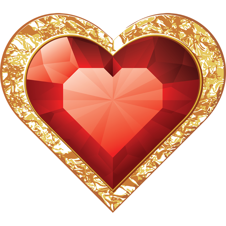 Ruby heart icon