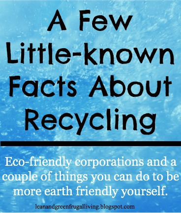 {Guest Post} A Few Little-known Facts About Recycling