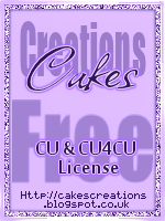 Cake's Creations CU License
