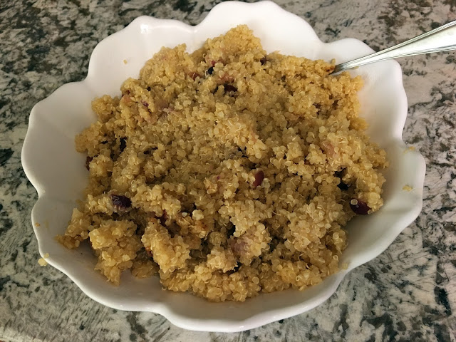 Thanksgiving quinoa recipe