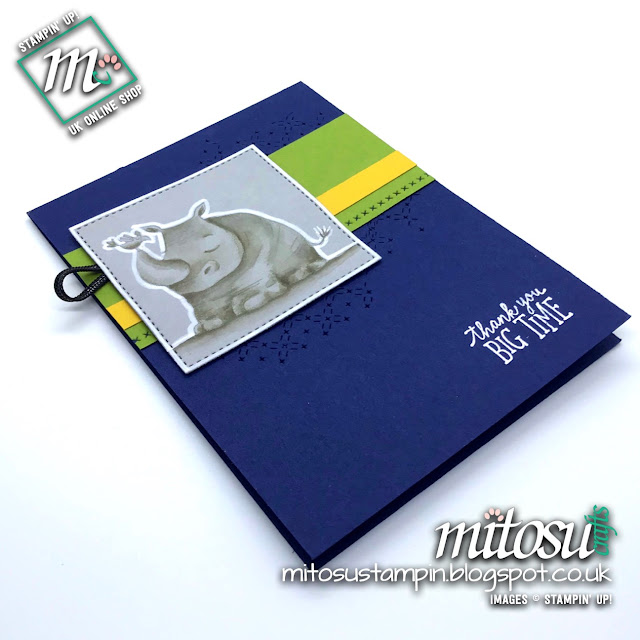 Stampin' Up! Animal Outing SU Card Idea order from Mitosu Crafts UK Online Shop