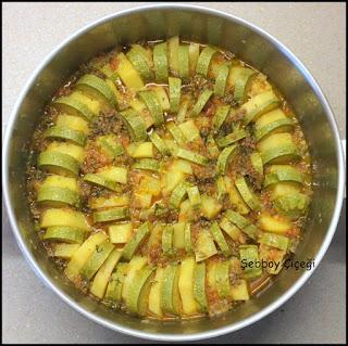 patates kabak dizme