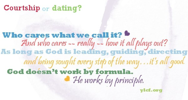 Difference between dating and courtship