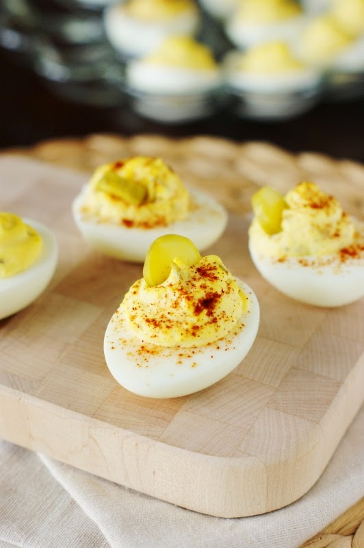 Southern Deviled Eggs image